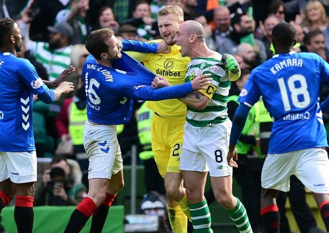 Andrew Smith's blow-by-blow account of the Celtic-Rangers fight ...