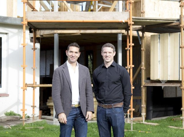 East Lothian-based developers Chris Dornan and Tsen Wharton are competing in the challenge. Picture: Contributed