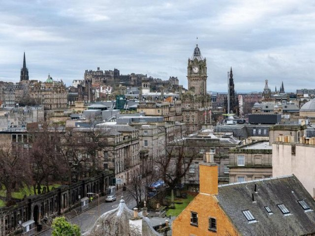 The view from Edinburgh's Calton Hill (Photo: Shutterstock)