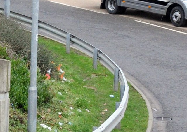 Anyone who throws litter out the car window will soon face a higher risk of prosecution (Picture: Emma Mitchell)