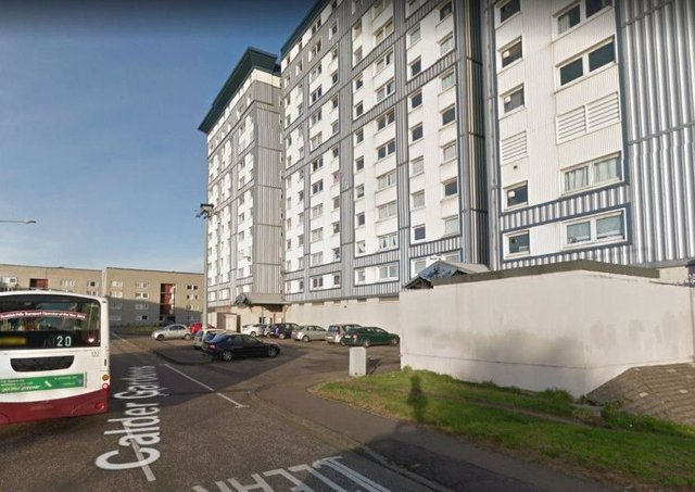 Police are dealing with an ongoing incident in Wester Hailes. Pic: Google Maps