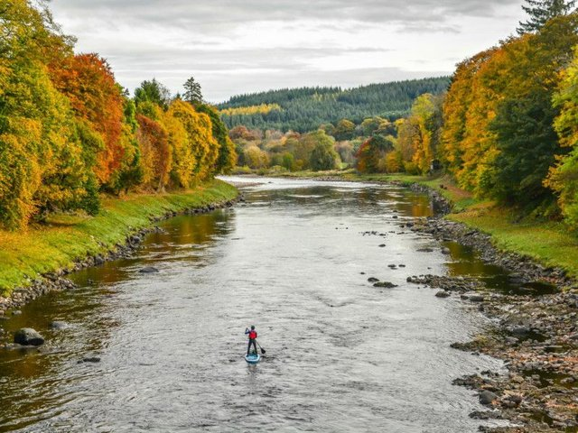 Paddleboarding is an up-and-coming watersport in Scotland. Photo: Shutterstock.