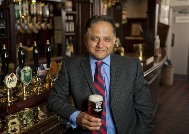 The results are Greene King chief executive Rooney Anand's swansong before his successor takes over from 1 May. Picture: Greene King
