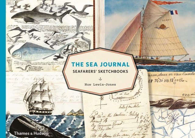 Cover of The Sea Journal, by Huw Lewis-Jones