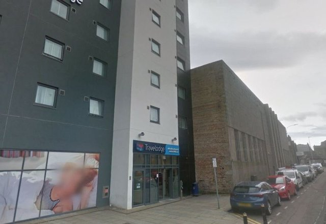 Travelodge in Aberdeen evacuated after fire