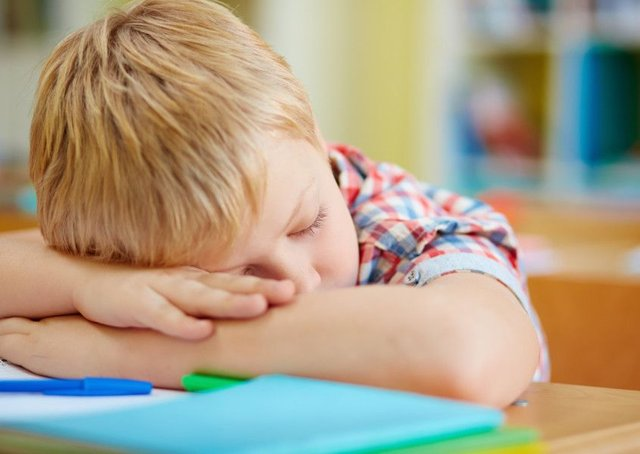 School pupils sleep for less than recommended minimum