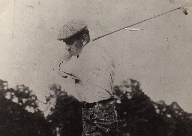 Willie Anderson, who won the US Open Championship in 1901, 1903, 1904, and 1905.  Picture: USGA Archives