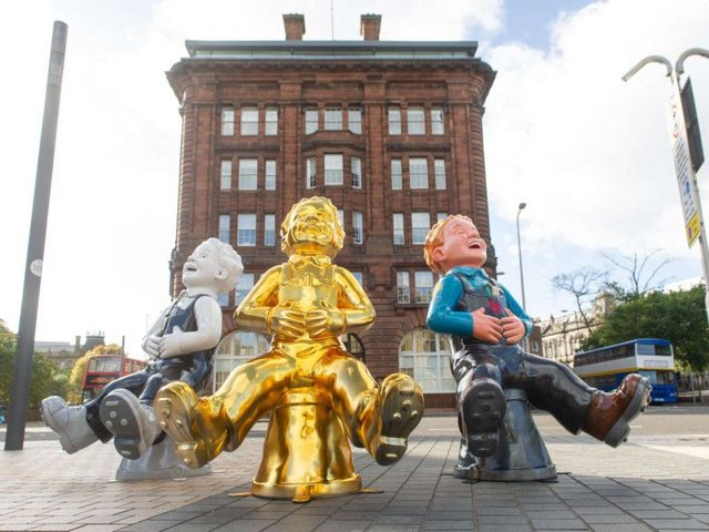 Have you seen any Oor Wullie sculptures dotted around? (Photo: Oor Wullie Big Bucket Trail)