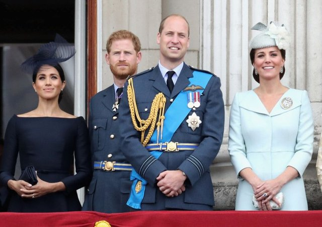 The Royal couples. (Photo by Chris Jackson/Getty Images)