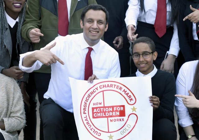 Anas Sarwar helped launch the Inclusion and Diversity Charter Mark for schools earlier this year (Picture: Lisa Ferguson)