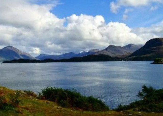 The 62-year-old's body was pulled from the sea at Loch Shieldaig in Wester Ross. Picture: Wikimedia