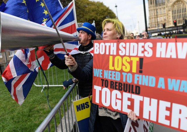 Whether Brexit happens or not is a secondary concern to the gaping wound in the country (Picture: Leon Neal/Getty)