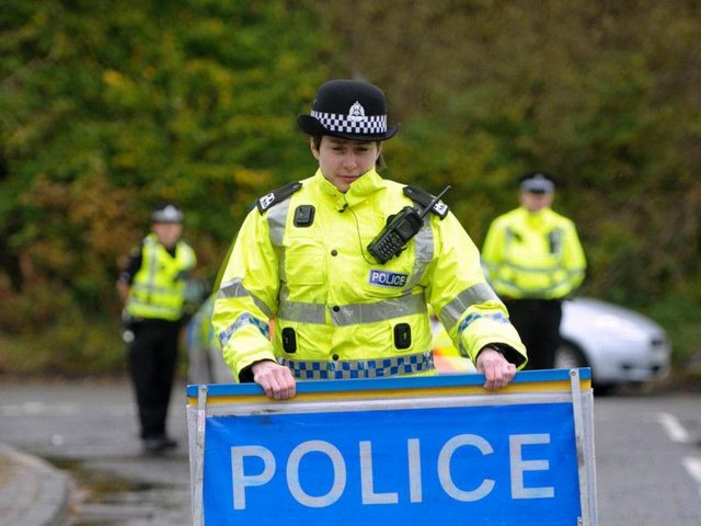 The man was pronounced dead at the scene and his next of kin are aware. Picture: TSPL