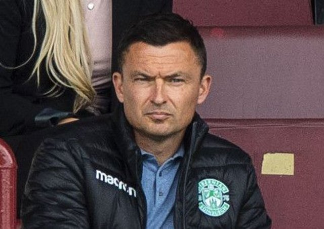 Paul Heckingbottom has targets for Hibs in mind. Pic: SNS