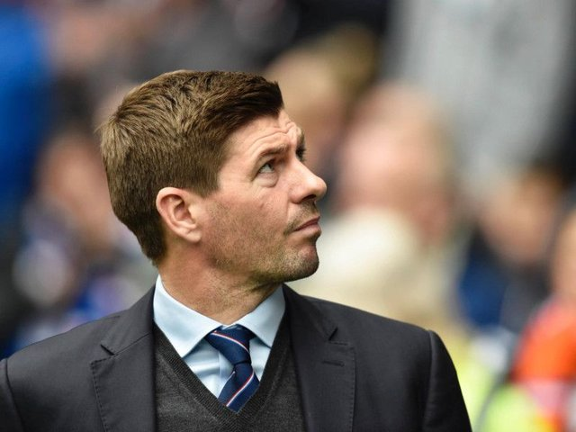 Steven Gerrard is unsure on his strongest Rangers XI. Picture: SNS