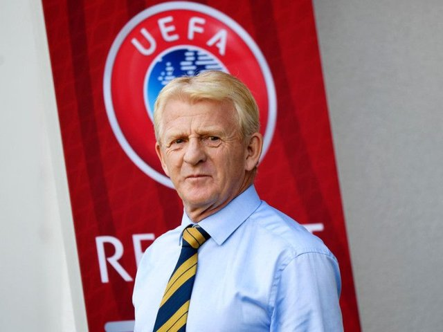 Gordon Strachan has returned to Dundee