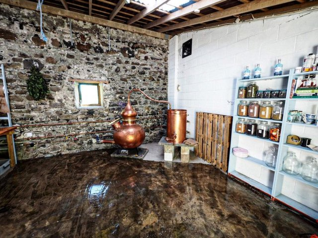 The firm has accessed funding helping it buy equipment and move its gin production in-house from London to Mull. Picture: contributed.