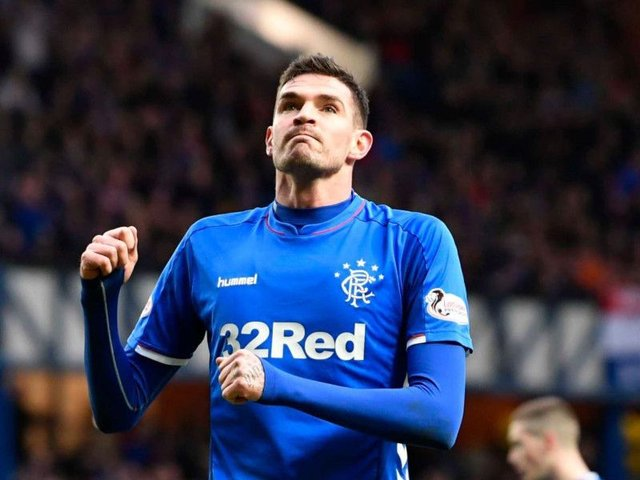 Kyle Lafferty has been freed by Rangers