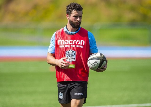 New  Glasgow Warriors signing Sean Kennedy. Picture: SNS