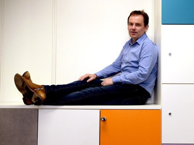 David Ferguson is the capital firm's founder and chief executive. Picture: Lisa Ferguson