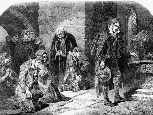 The famine led to the deaths of over a million people in Ireland.