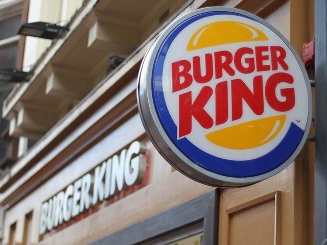 Burger King said the move was part of their wider commitment to reducing the use of plastic.