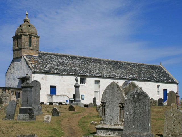 The boots were found in a coffin at Tarbat Discovery Centre in Easter Ross, a former Pictish monastery which later became a parish church. PIC: Flickr/Creative Commons/S.Rae