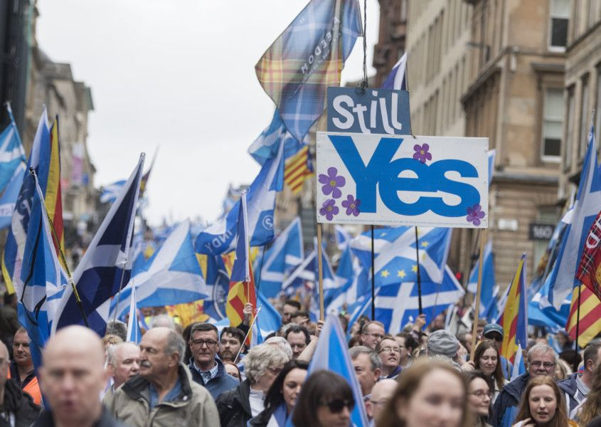 All Under Different Banners: Boris and SNP should not make politics about  flags – Brian Wilson | The Scotsman