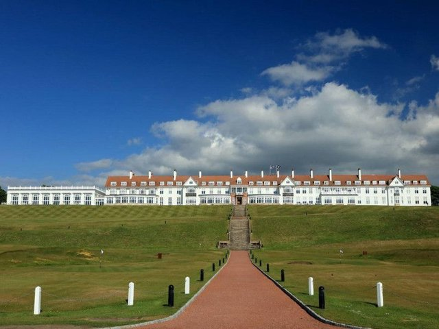 A Congressional committee is scrutinising the ties between Trump Turnberry and the state owned Glasgow Prestwick Airport.