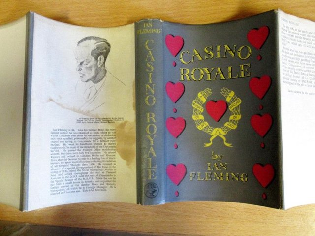 The titles will go under the hammer at Lyon & Turnbull in Edinburgh on October 9, which includes a first edition copy of Flemings first novel, Casino Royale. Picture: SWNS