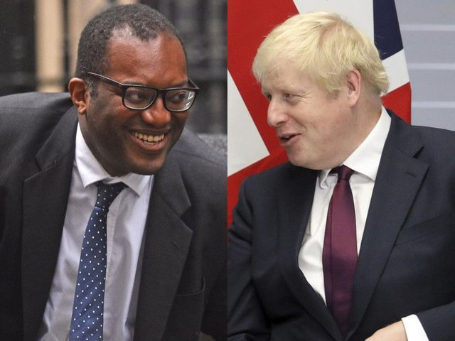 Business Minister Kwasi Kwarteng said it would be very difficult for the UK to leave the EU on Halloween. Pictures: PA and AP