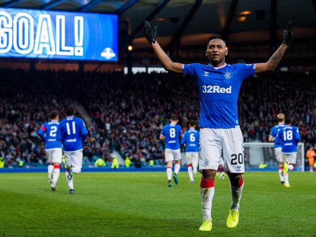 Alfredo Morelos won't be sold in January, Steven Gerrard has guaranteed