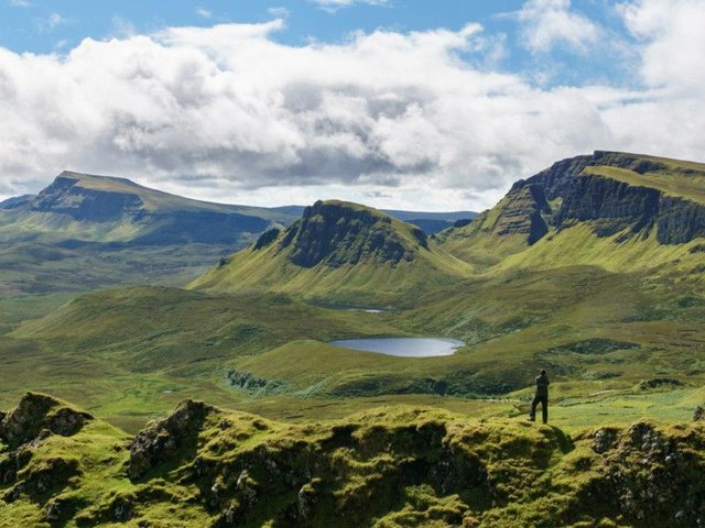 The stunning landscapes of the Isle of Skye are recognisable the world over. Now, the island is to get its own flag to seal its identity at both home and abroad. PIC: Wikimedia Commons/Colin.