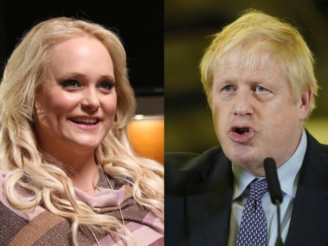 Jennifer Arcuri's links with Boris Johnson came under public scrutiny earlier this year over allegations she received favourable treatment for her business ventures when he was London's mayor. Picture: Turquoise TV Production