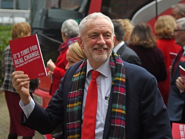 Mr Corbyn called the fresh plans a 'manifesto of hope'
