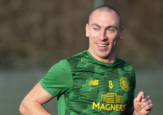 Scott Brown has hinted at a Scotland return despite twice retiring from international football. Picture: Alan Harvey/SNS