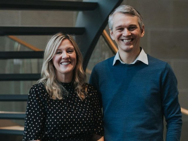 Husband-and-wife team Niamh and Mark Allan. Picture: Contributed