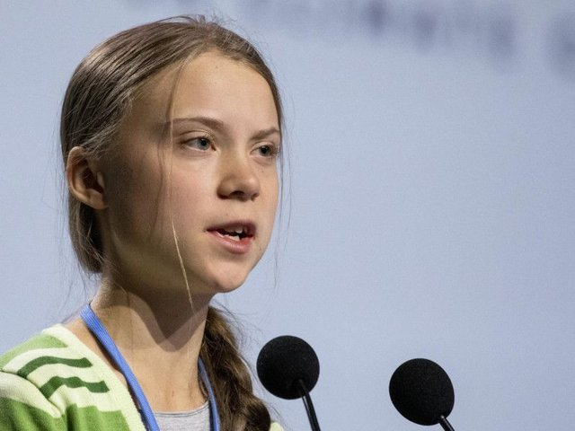 Activist Greta Thunberg has criticised governments at the UN climate talks for avoiding taking action to cut greenhouse gas emissions.