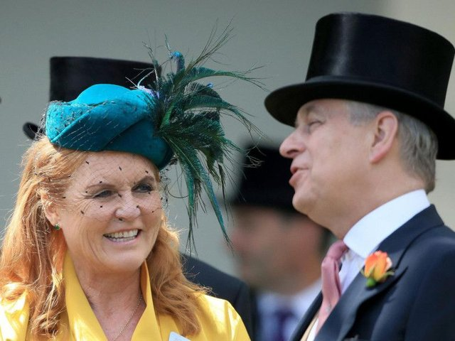The Duchess of York has defended her former husband Prince Andrew