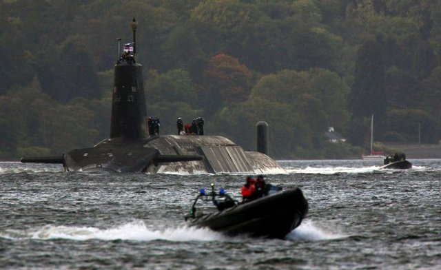 The MoD insisted the convoys to naval bases on the Clyde did not pose a risk to the public, despite SNP concerns. Picture: Getty