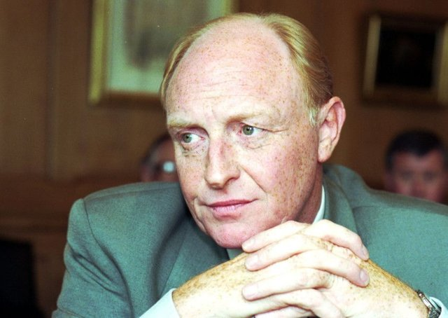 Neil Kinnock, interviewed during a visit to Edinburgh in August 1991, enforced strict party discipline that helped turn Labour into a credible political force (Picture: Hamish Campbell)