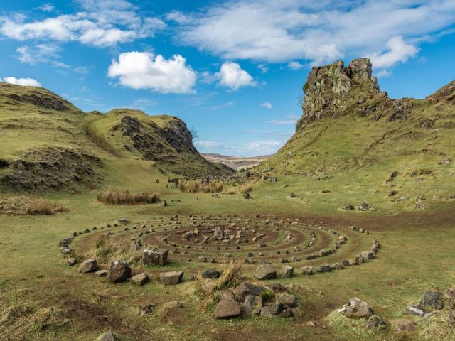 Fairy Glen on the Isle of Skye. Picture: Gettyimages