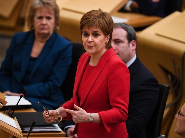 The Scottish Parliament has backed calls for a second independence referendum. Picture: Pa