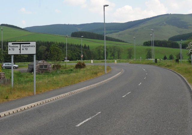 The A72 is the main east-west route through the Borders at present, but it is not enough, according to some.