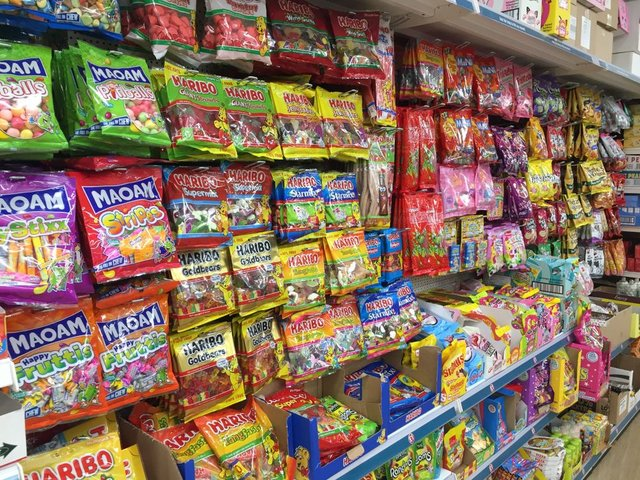 Generally brightly coloured and featuring cartoons, should confectionery packaging be redesigned to lessen its appeal? (Photo: Shutterstock)