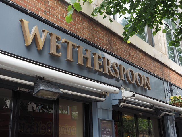 If you want to take your loved one for a romantic meal on Valentine's Day and you're a fan of Wetherspoons then their 'two dine for £20' offer could be up your street (Photo: Shutterstock)