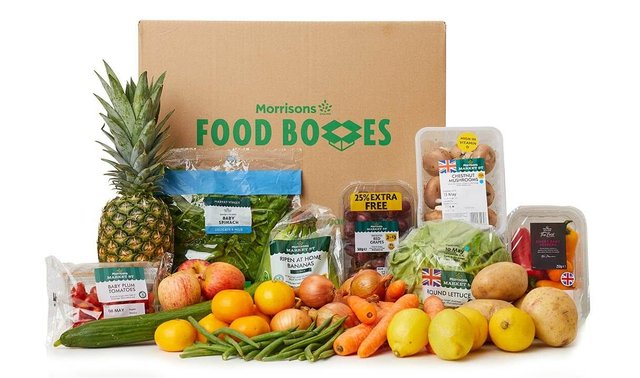 Morrisons has just launched another food box. This time, their aptly named Fruit and Veg (Photo: Morrisons)