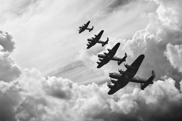 The event was the first battle in history that was fought entirely in the air (Photo: Shutterstock)
