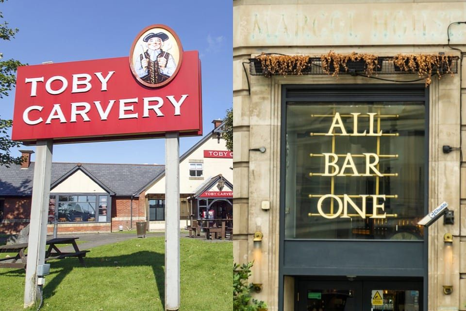 All Bar One and Toby Carvery owner to close pubs and ...
