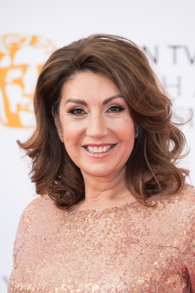 Jane McDonald attends the Virgin TV British Academy Television Awards at The Royal Festival Hall on May 13, 2018 in London, England.  (Photo by Jeff Spicer/Getty Images)